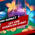 Détails de l'événement de débordement de la ligne tellurique Genshin Impact