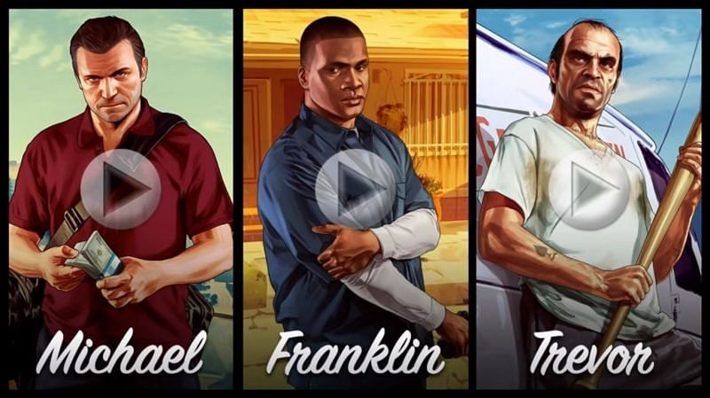 It remains unknown if any of the GTA 5 protagonists will return (Image via Rockstar Games)