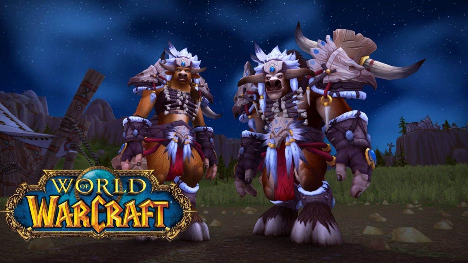 wow tauren heritage armor