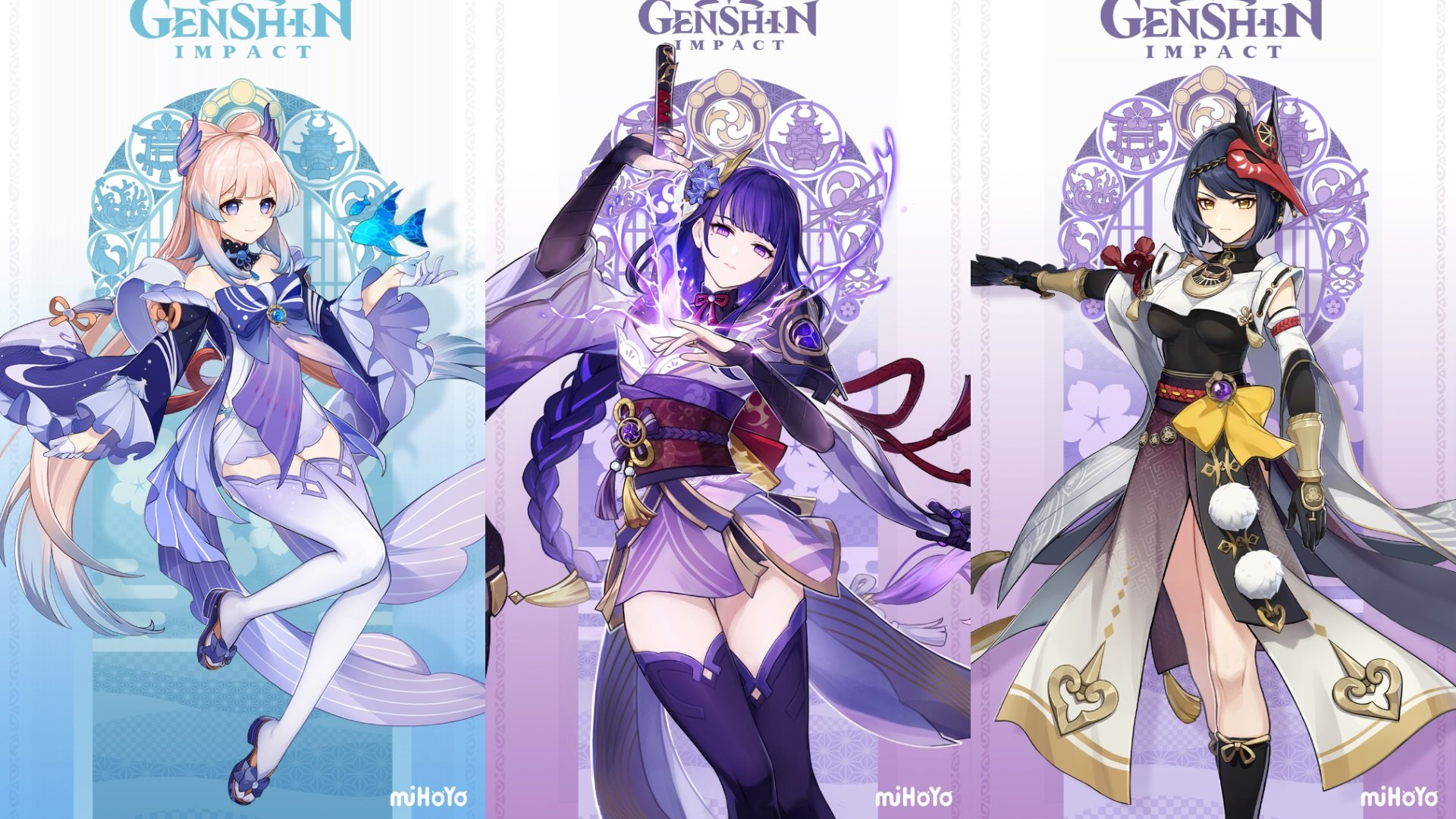 Calendrier de diffusion en direct de Genshin Impact 2.1 Twitch