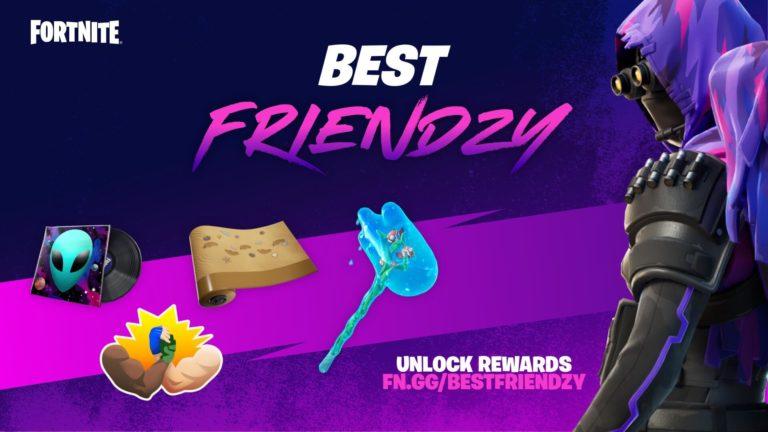Comment débloquer toutes les récompenses lors de l'événement Fortnite Best Friendzy