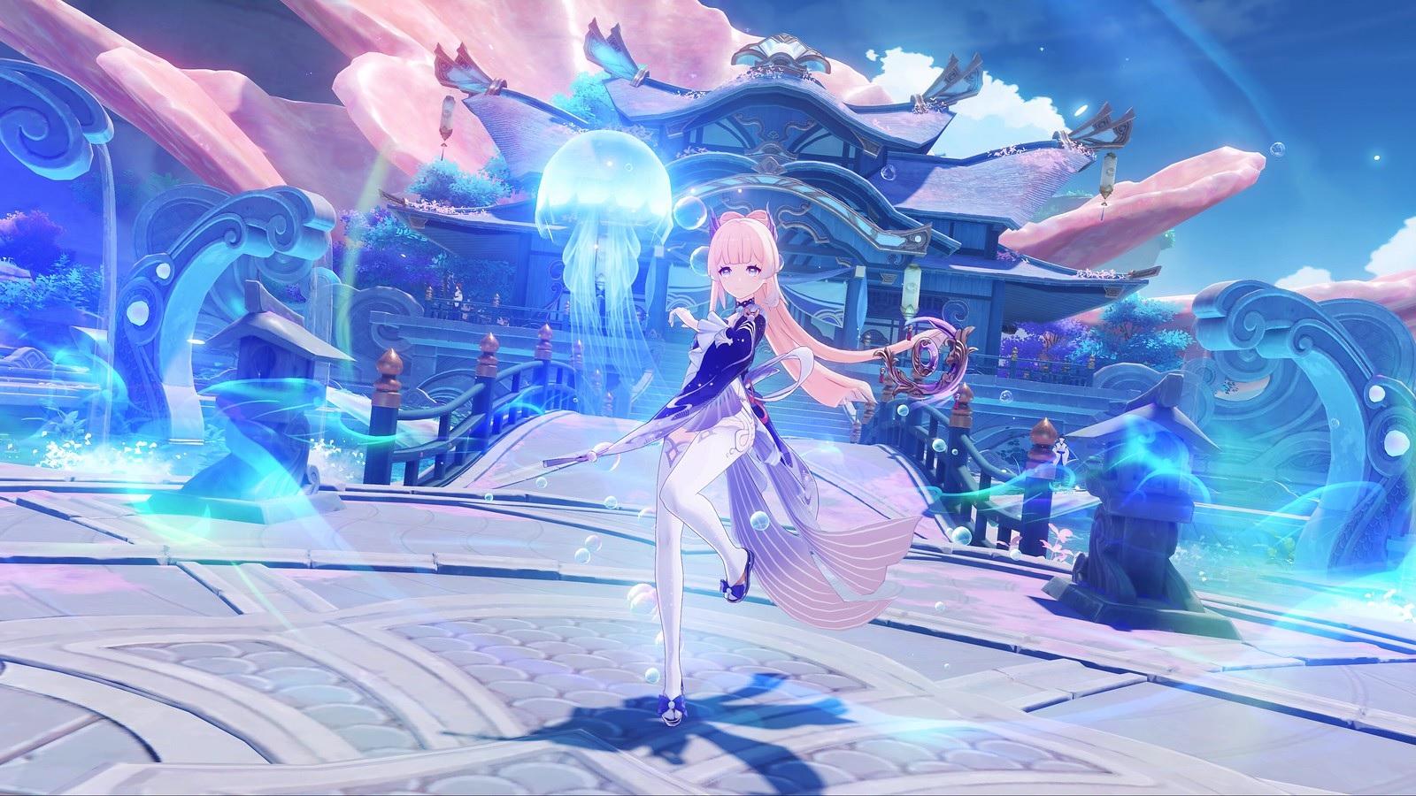 Ensemble de mises à jour Genshin Impact pour l'annonce de la Gamescom