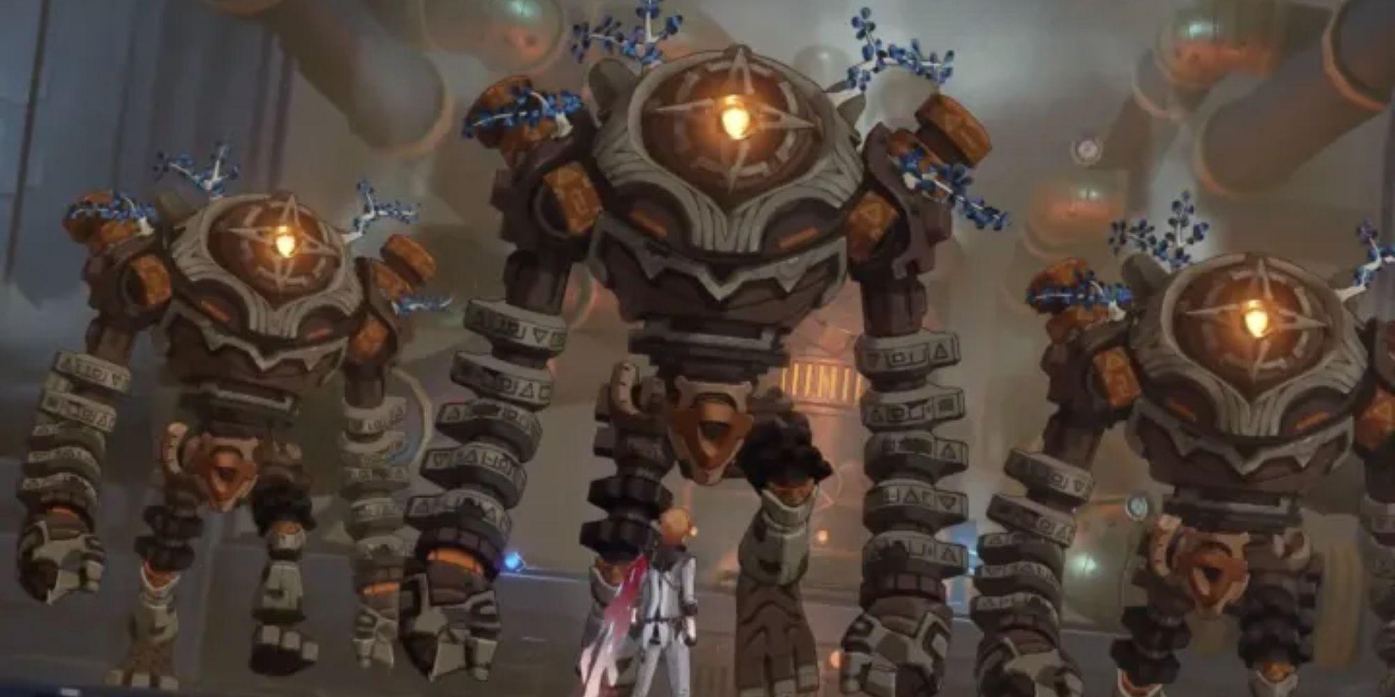 Genshin Impact Cosplayer crée un garde-ruine réel