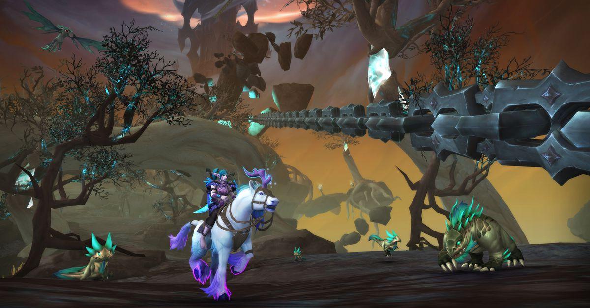 La mise à jour de World of Warcraft apporte des changements demandés par les fans à Shadowlands