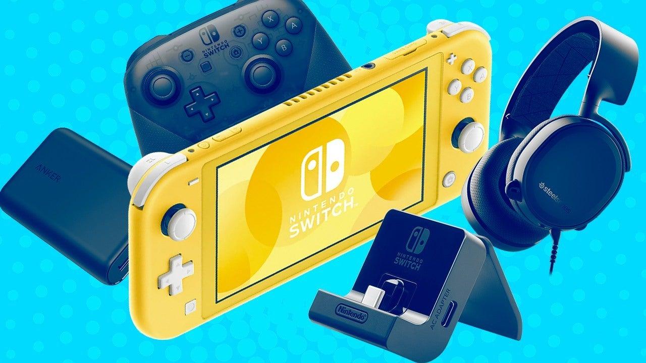 Meilleurs accessoires Nintendo Switch Lite 2021: supports, piles et plus