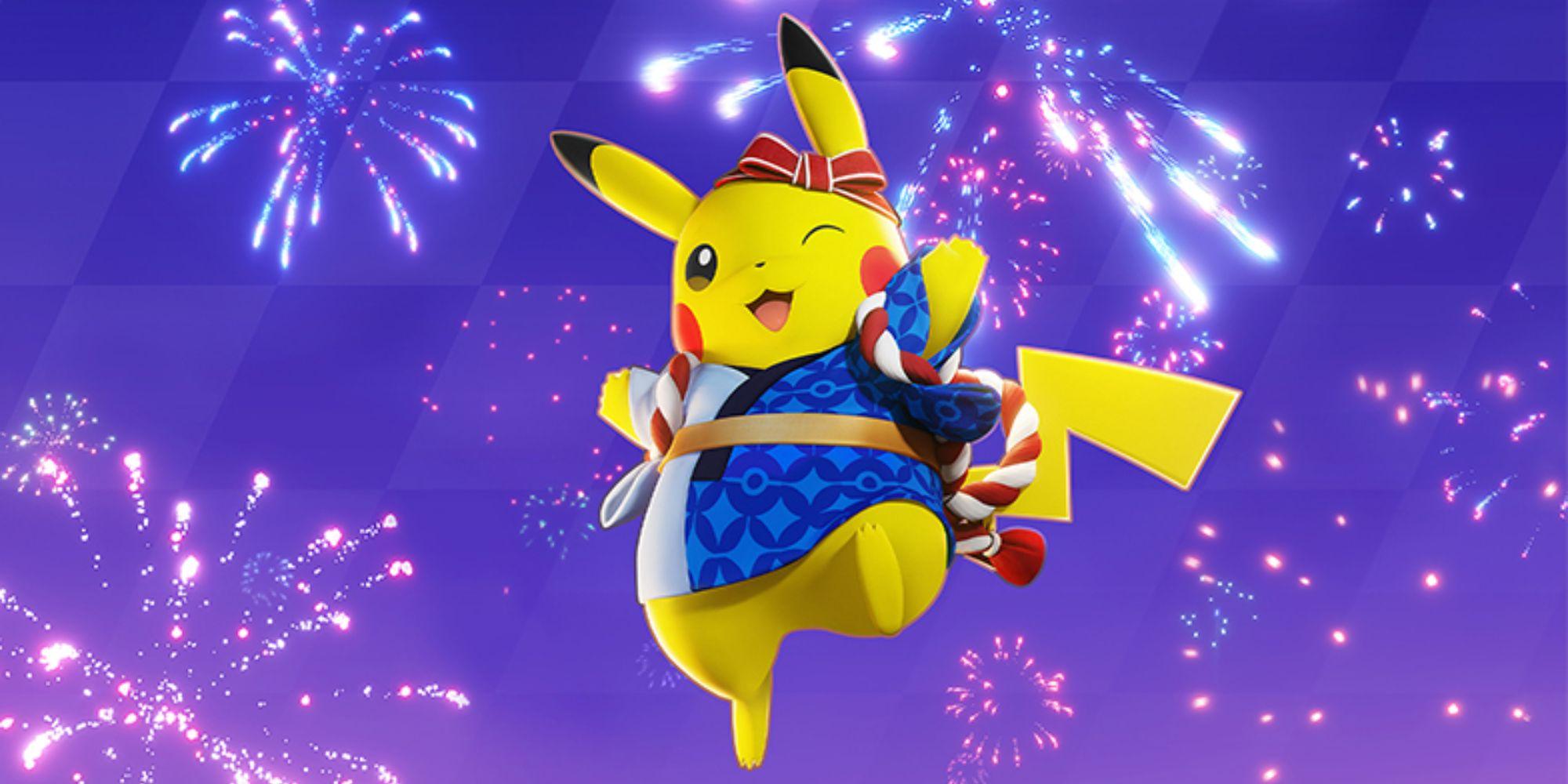 Pokemon Unite récompensera les joueurs avec des billets gratuits pour le festival Pikachu Holowear et Aeos