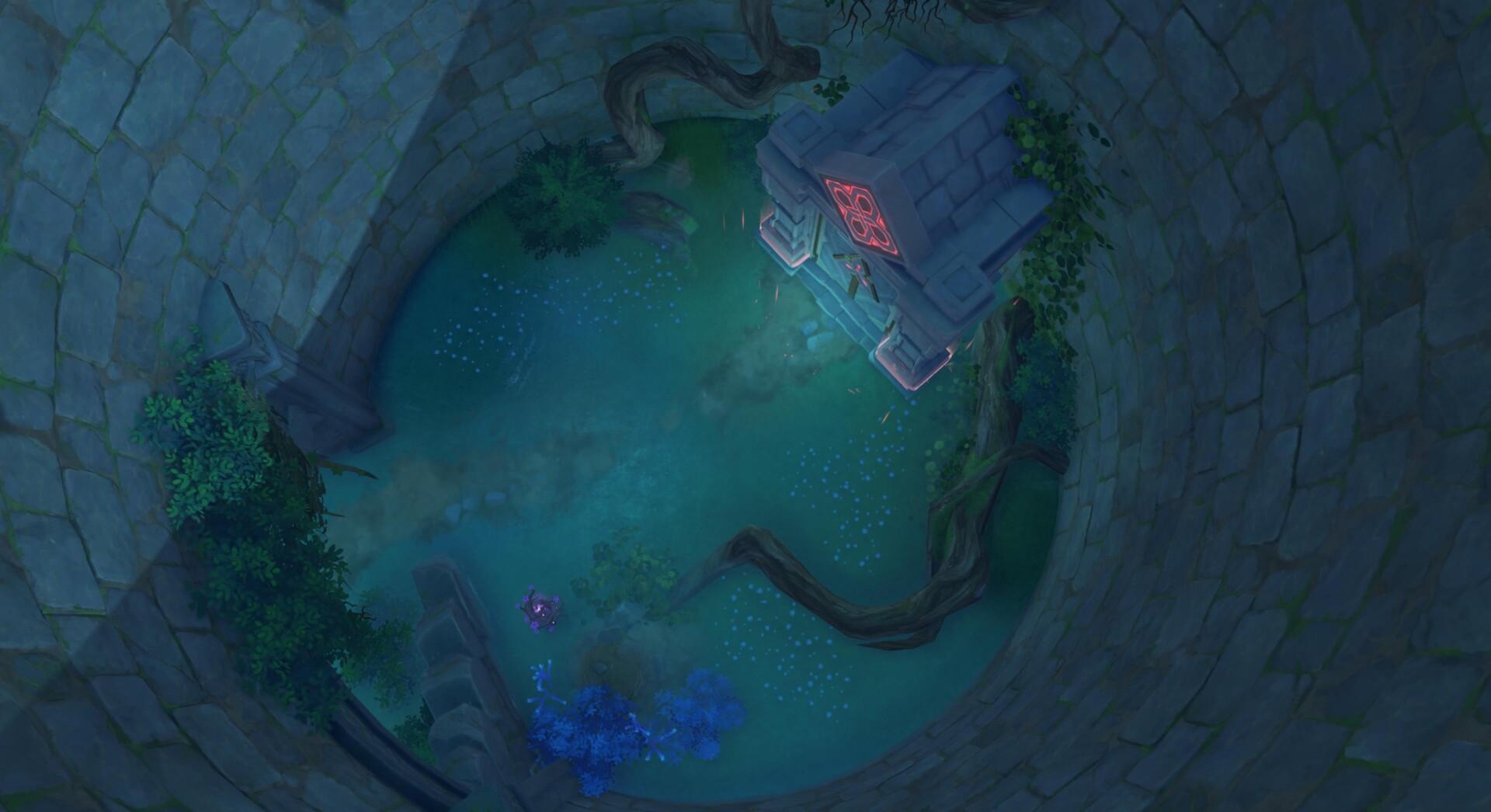 Genshin Impact: Suigetsu Pool - Déverrouillez le palais dans le domaine de la piscine