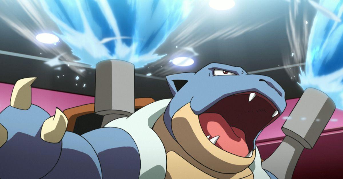 Blastoise a rejoint Pokemon Unite et les mèmes des fans sont hilarants