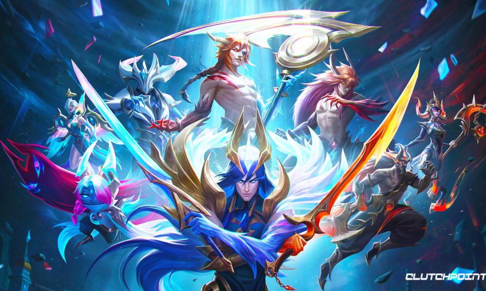 League of Legends Severing Fate - new Dawnbringer and Nightbringer skins