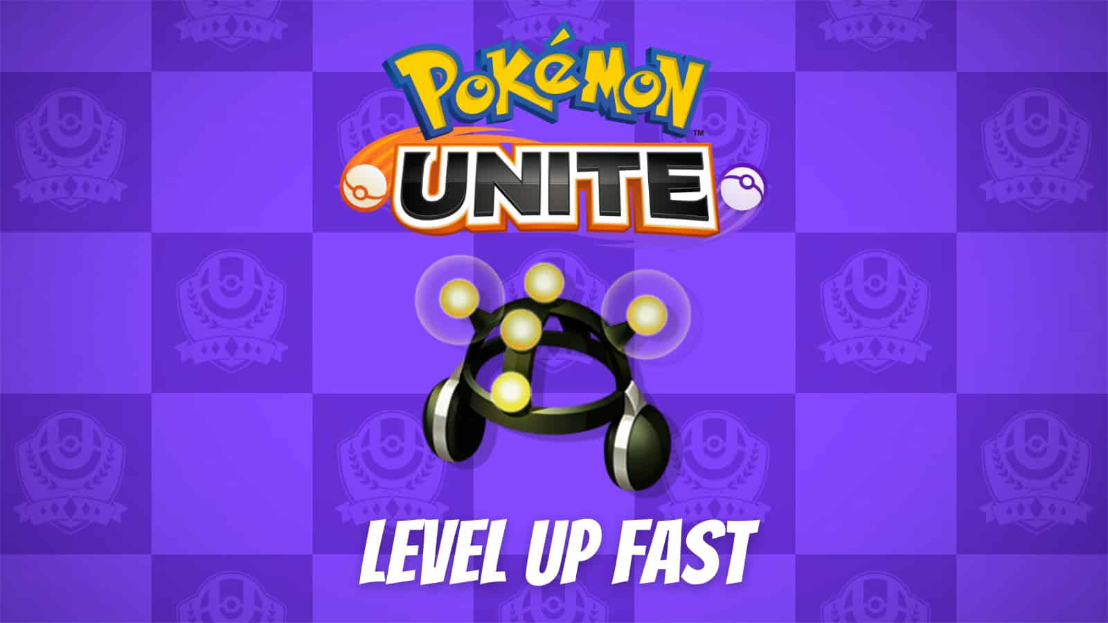 how to level up fast in Pokemon Unite