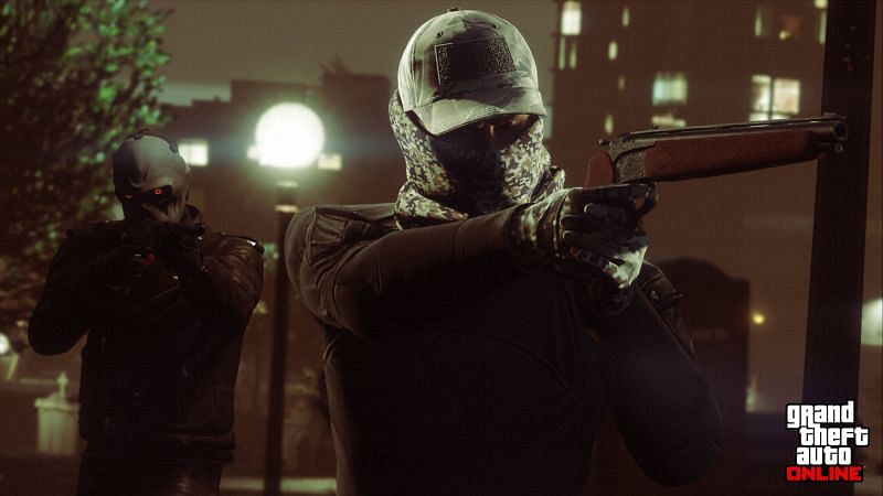 Heists constitute a significant component of GTA Online (Image via Rockstar Games)