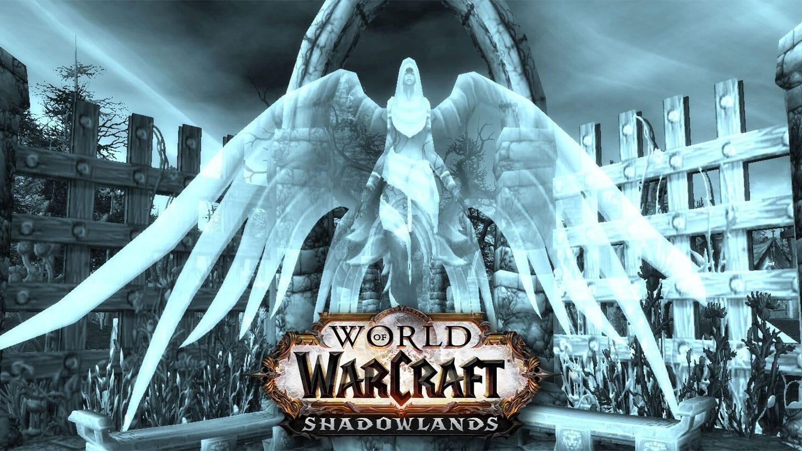 World of warcraft shadowlands spirit healer