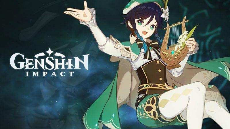 Venti est le quatrième personnage le plus utilisé des étages 9 à 12 (Image via Genshin Impact)