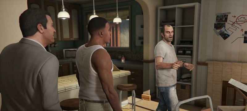 A scene from the latest trailer (Image via Rockstar Games)