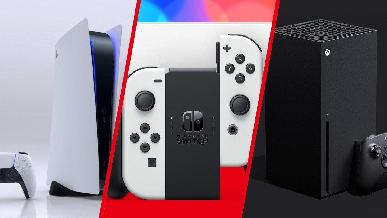 Point de discussion:commutateur contre.  PS5 et Xbox - Nintendo se prépare pour les vacances avec une nouvelle référence et une baisse de prix européenne