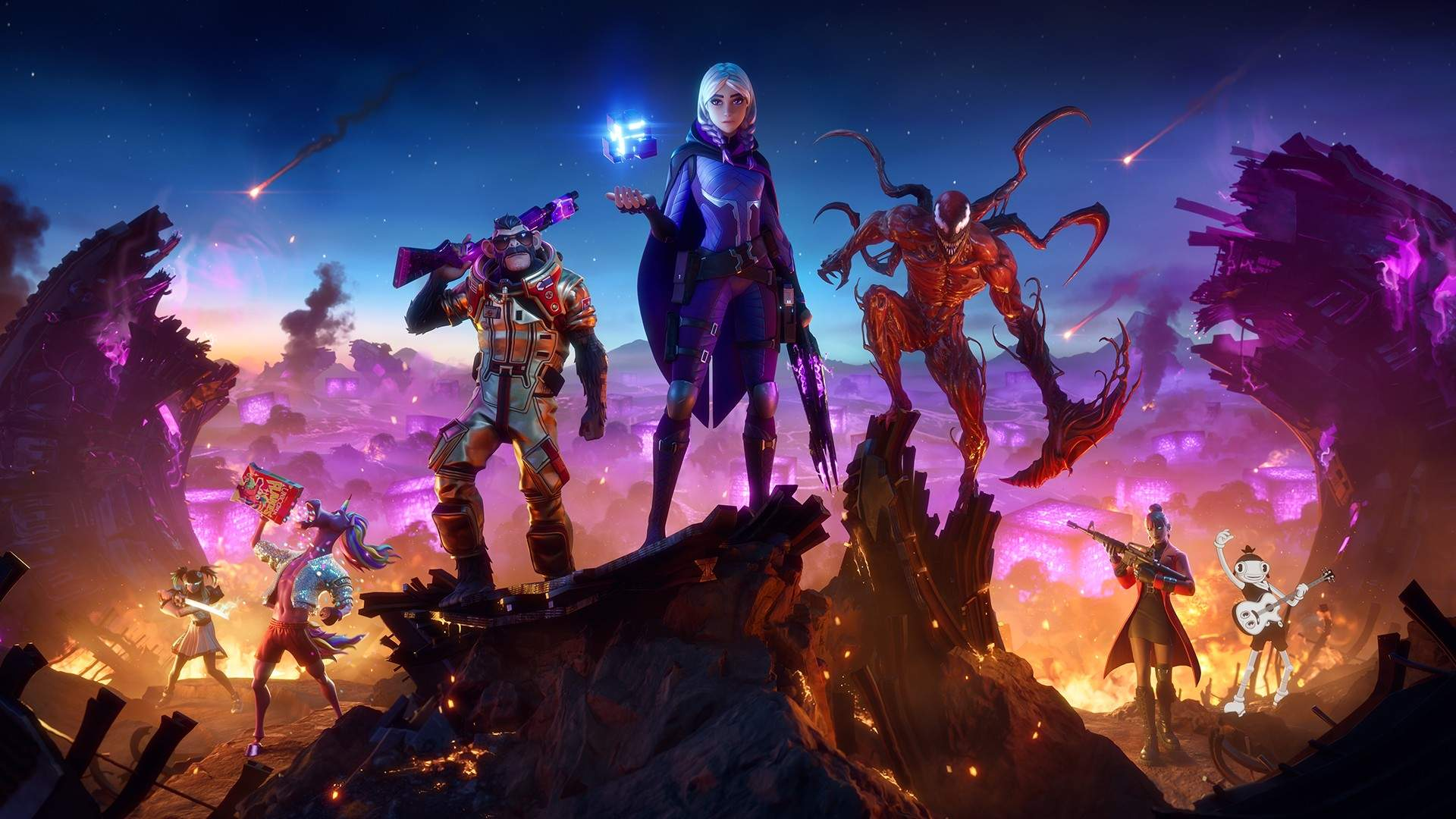 Video For A New Threat Takes Shape in Fortnite Chapter 2 – Season 8: Cubed