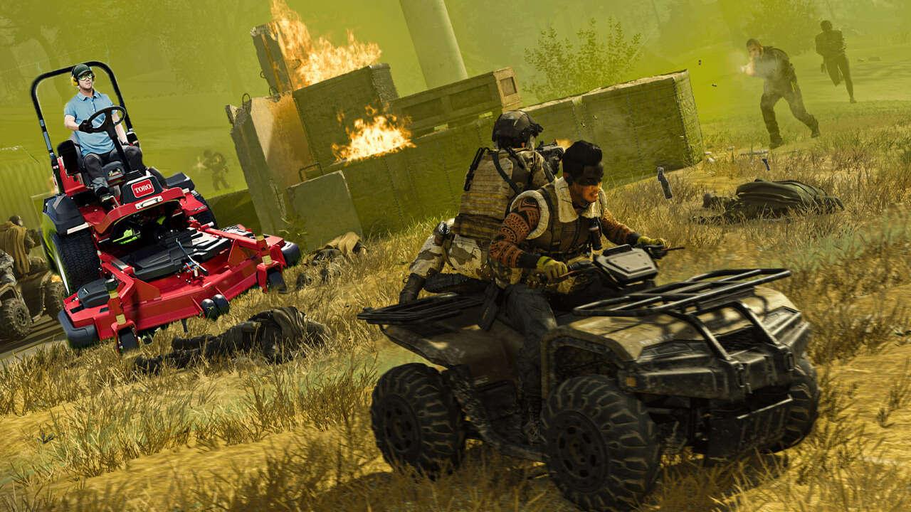 Le simulateur de tonte de pelouse a brièvement eu plus de téléspectateurs sur Twitch que Call Of Duty: Warzone