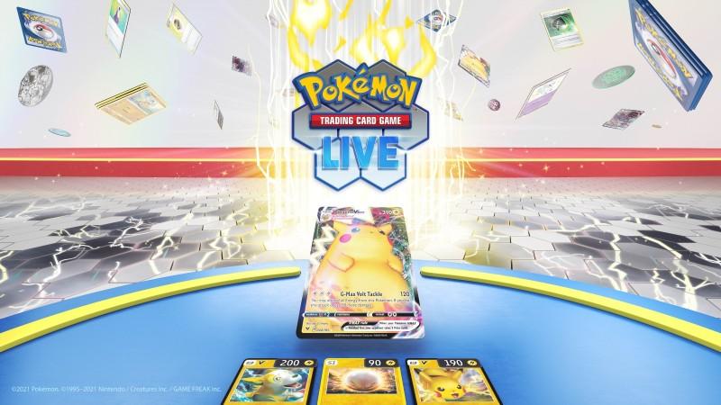 Annonce de l'application Pokémon TCG Live, fermeture de l'application en ligne TCG