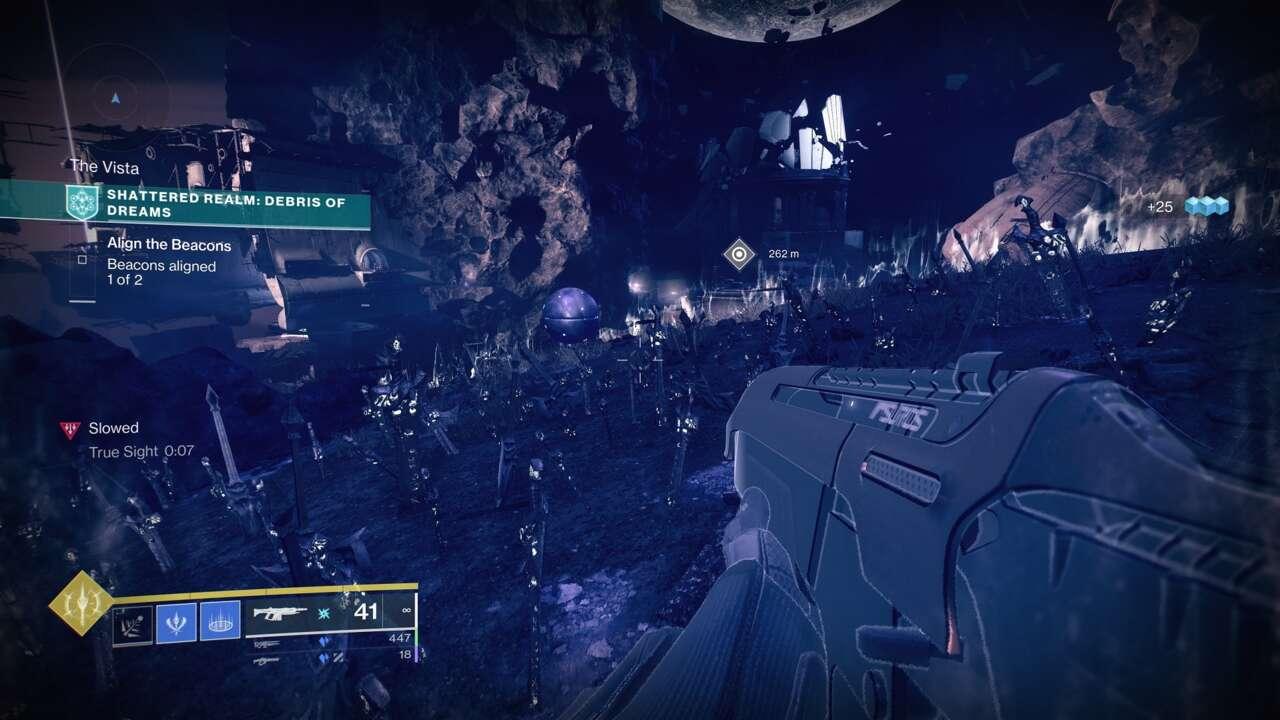 Destiny 2 Shattered Realm - Guide des caches de données de Debris of Dreams Awoken