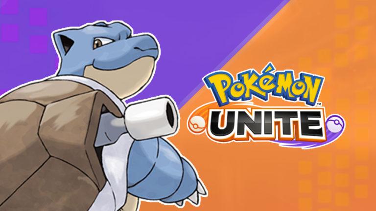 Blastoise est maintenant disponible dans Pokémon UNITE