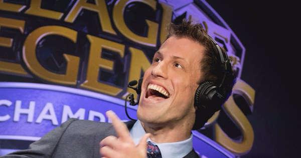 Clayton Raines ne commentera pas les championnats du monde 2021 de League of Legends