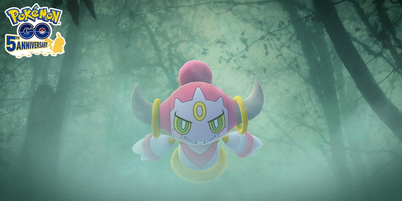 Défi de la collection d'arrivée de Pokemon Go Hoopa