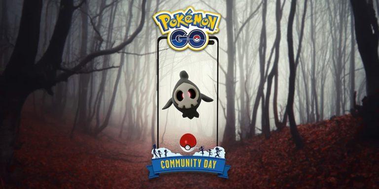 Duskull est le Pokémon de la journée communautaire d'octobre dans Pokémon Go
