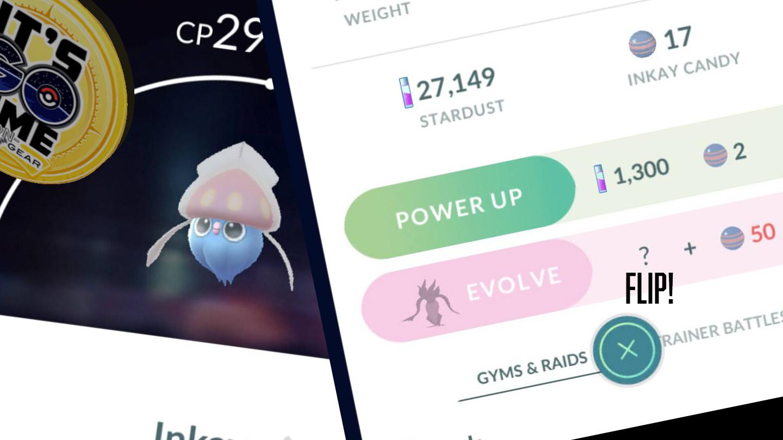 Focus sur l'évolution de Pokemon GO Inkay: Psychic Spectacular