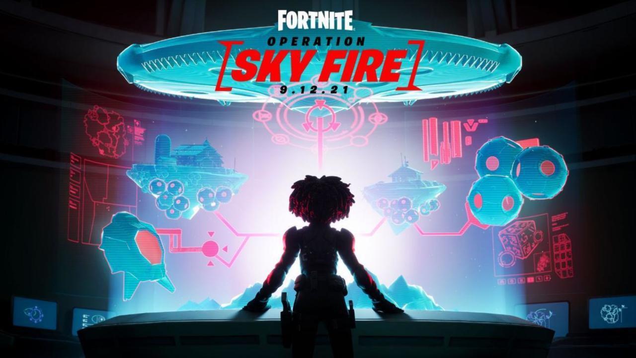 Fortnite Chapter 2 Season 7 révèle l'opération: Sky Fire Finale Event