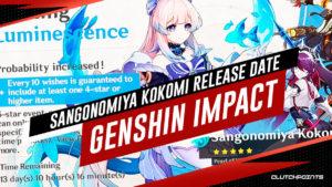 Genshin Impact, Date de sortie de Sangonomiya Kokomi