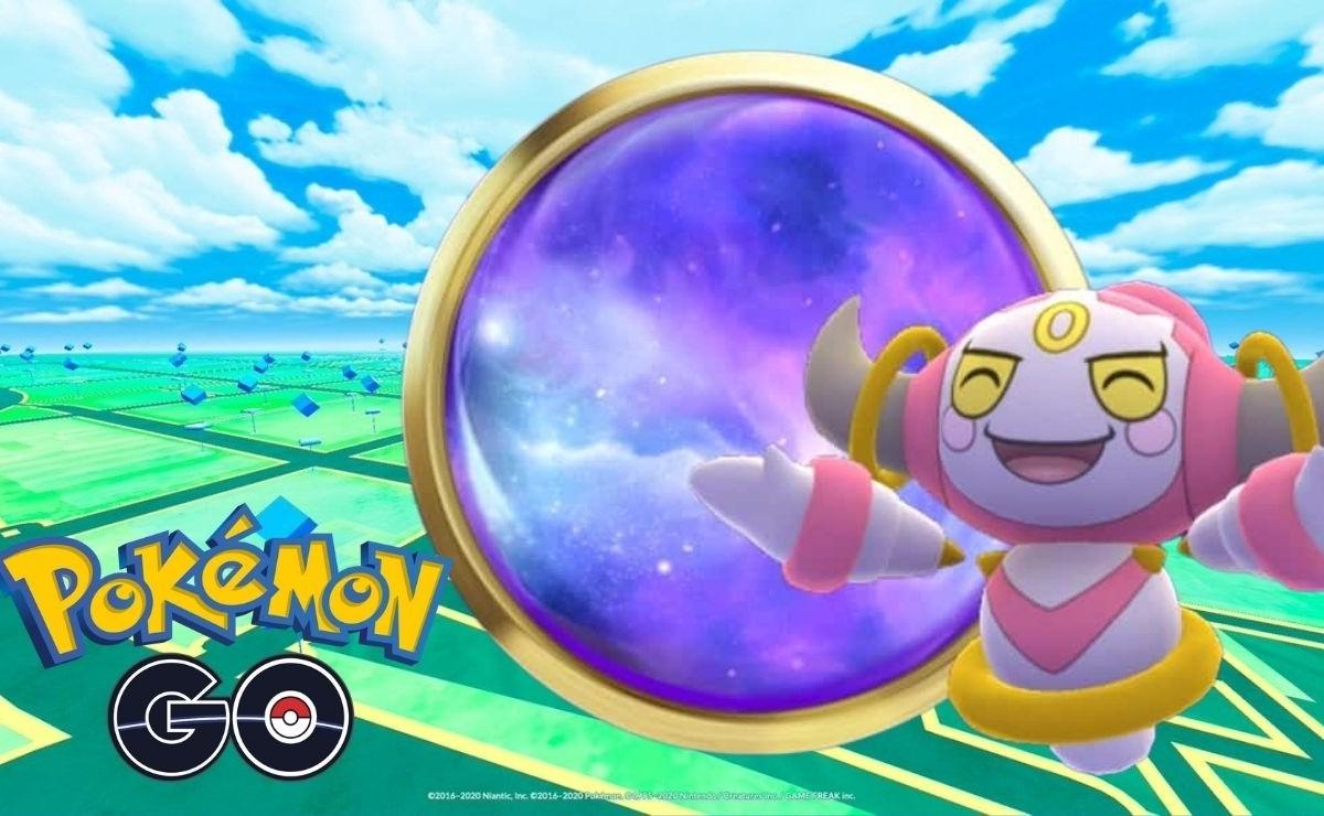 'Hoopa' ha llegado a Pokémon Go, te cuento cómo obtenerlo
