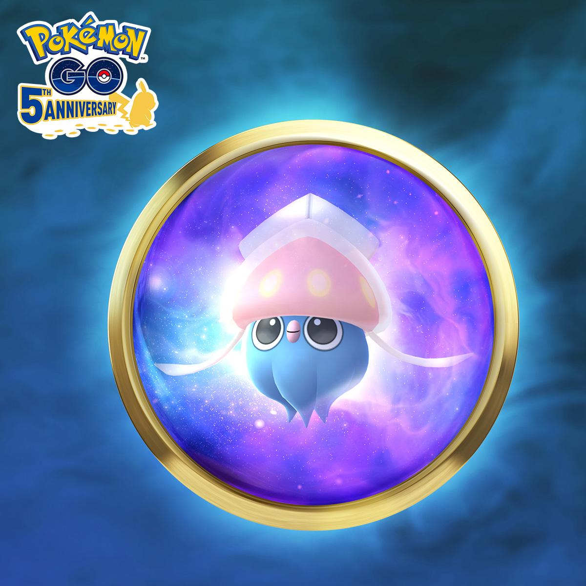 Inkay et Malamar font leurs débuts dans Psychic Spectacular de Pokémon GO