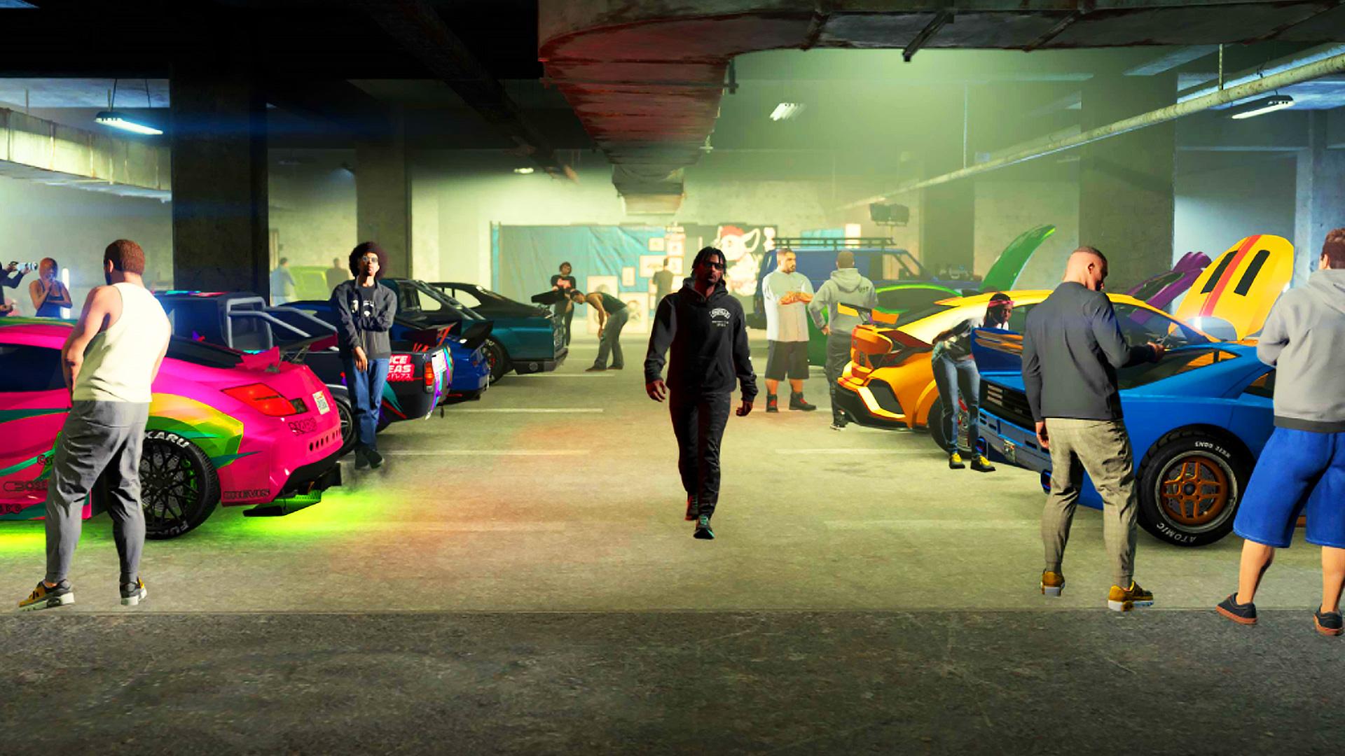 La mise à jour hebdomadaire de GTA Online apporte des bonus de course Los Santos Tuners