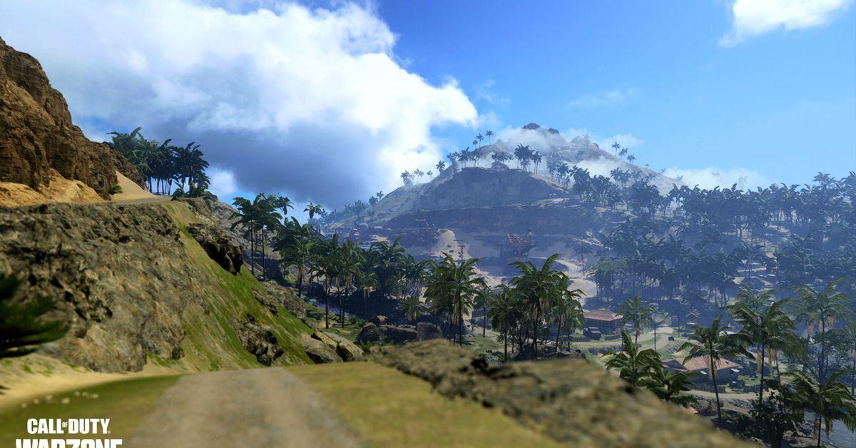 La nouvelle carte Warzone de Call of Duty emmènera les joueurs dans le Pacifique