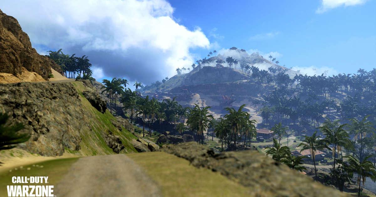 La nouvelle carte de Warzone emmènera les joueurs dans le Pacifique