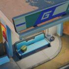 Laissez des documents secrets à un arrêt de bus à Fortnite