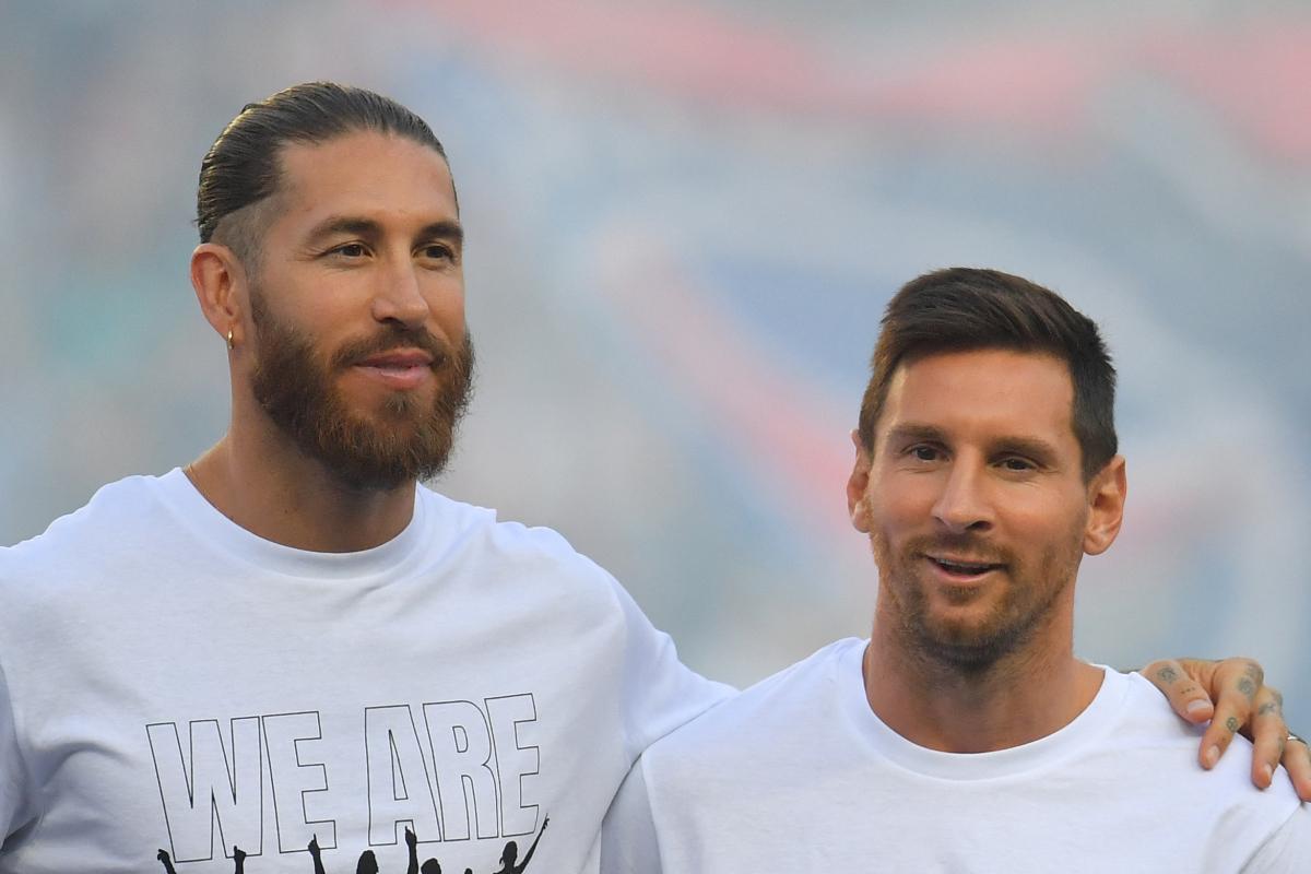 """Le chef de la Liga a déclaré que le PSG n'était qu'une """"ligue de légendes en raison de l'âge de ses joueurs"""" après avoir signé Messi, 34 ans, et Ramos, 35 ans"""
