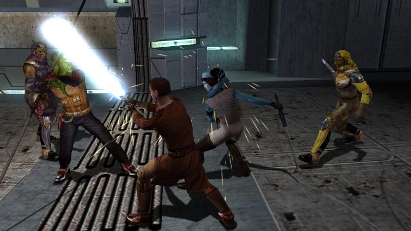 Le plus gros problème de Star Wars Knights of the Old Republic est son jeu