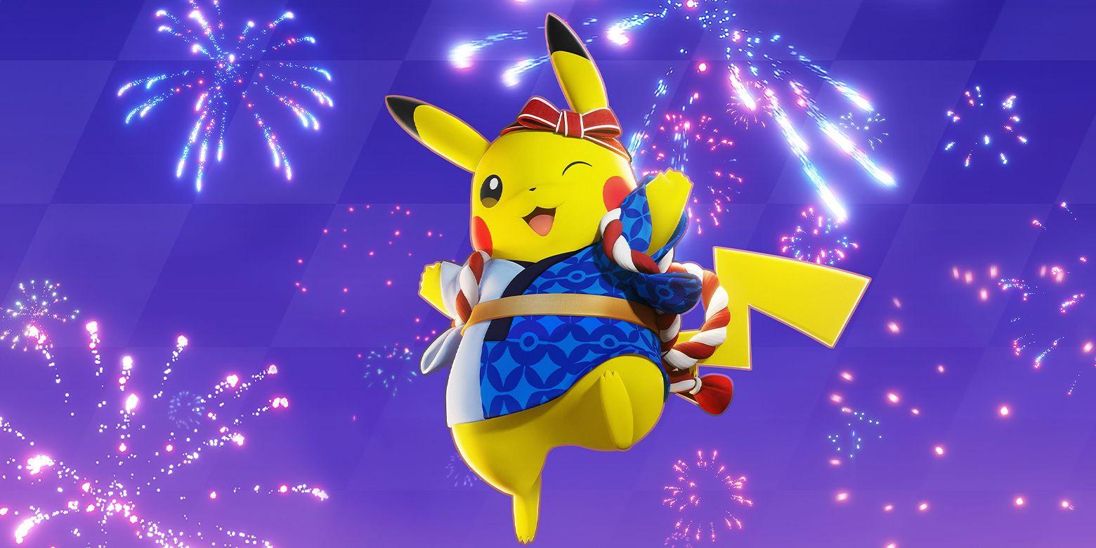Le skin du festival Pokémon Unite Pikachu célèbre les pré-inscriptions mobiles