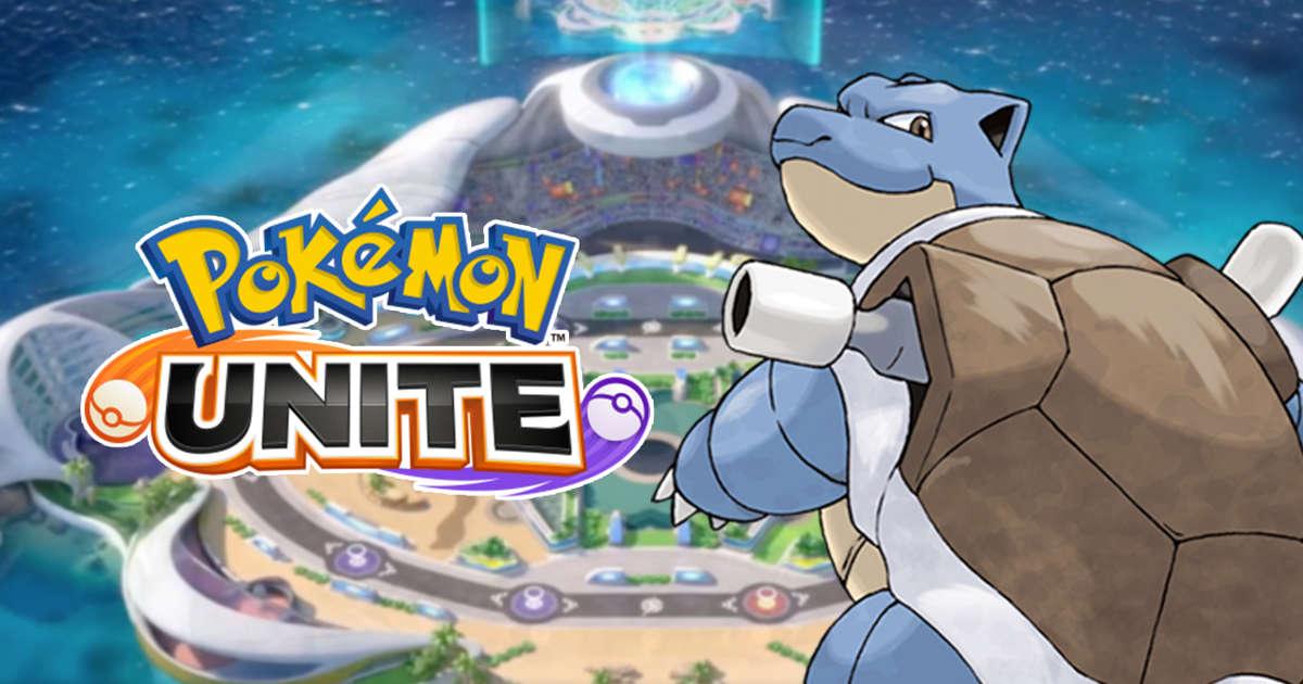 Meilleur build Blastoise dans Pokémon UNITE