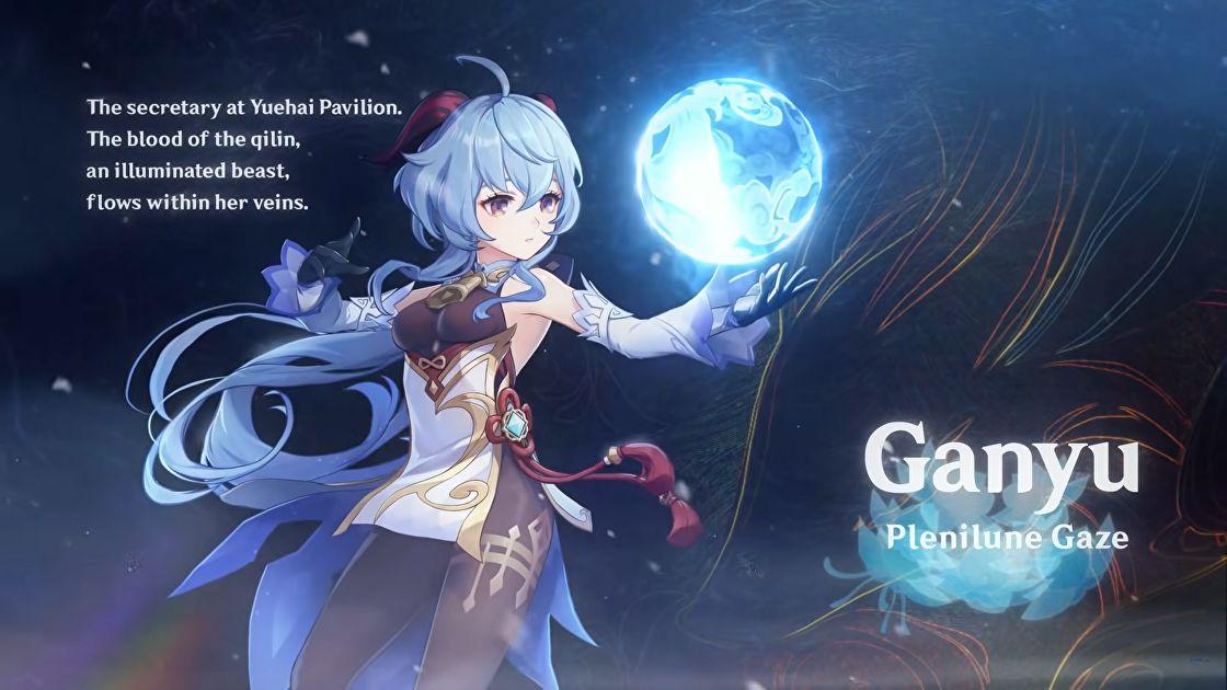 Meilleur build Genshin Impact Ganyu