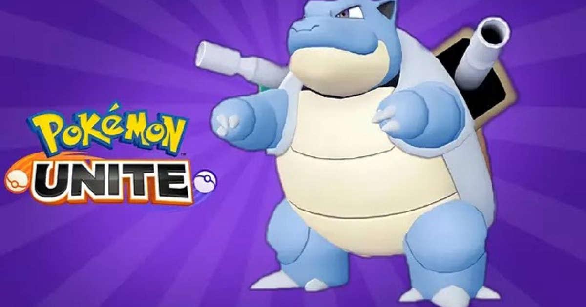 Meilleur build, mouvements, évolutions et objets Blastoise dans Pokémon Unite
