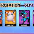 Pokemon UNITE Free Rotation: Semaine du 5 au 11 septembre