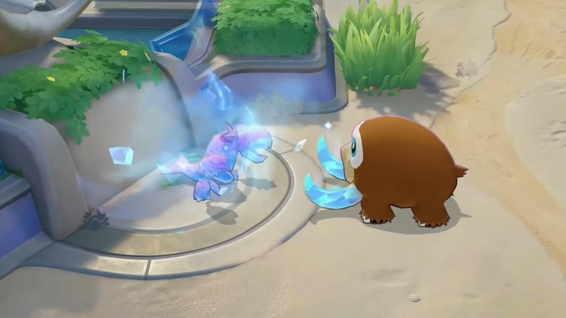 Pokémon Unite Mamoswine – date de sortie, build et objets