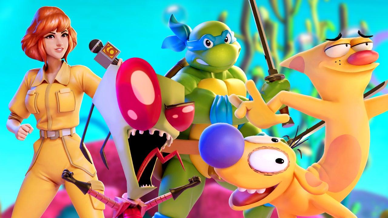 Ren et Stimpy rejoignent Smash Bros.-Like Nickelodeon All-Star Brawl