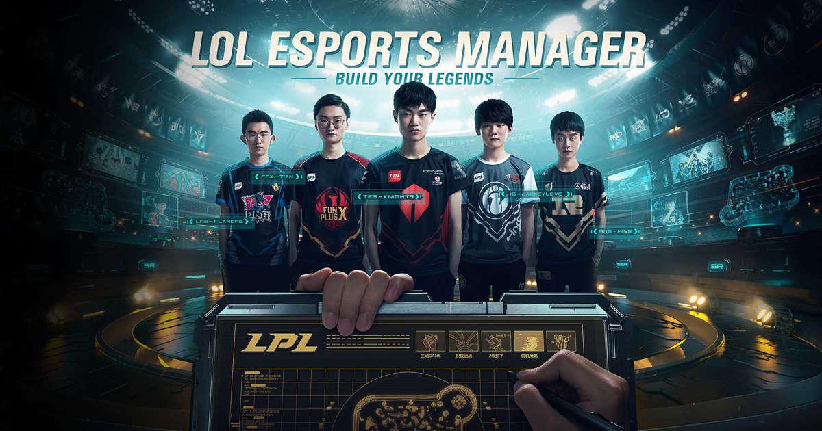 Riot donne un nouveau regard sur le prochain jeu League of Legends Esports Manager