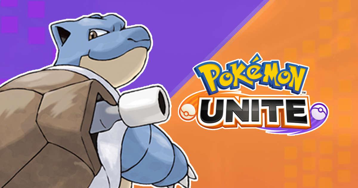 Un joueur de Pokémon UNITE vole des Zapdos avec Blastoise