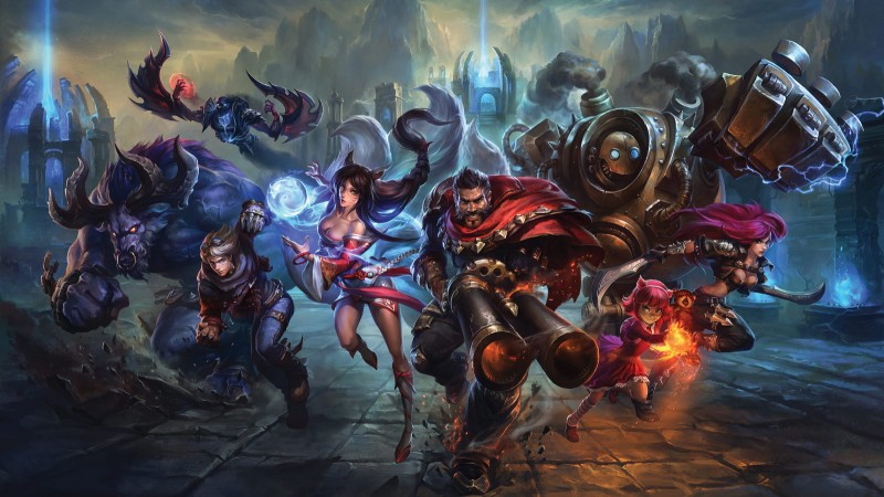 Riot Patches Out / All Chat Dans Matchmade League Of Legends Games