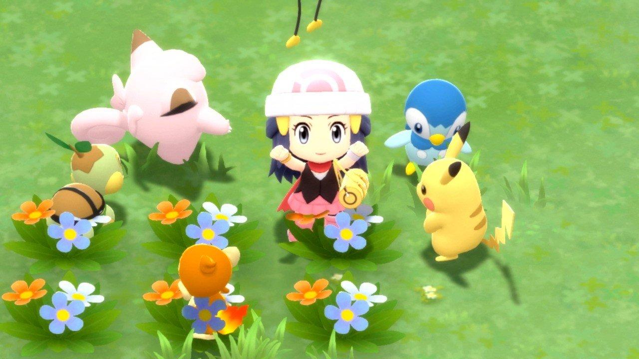 Premières impressions: pour le meilleur ou pour le pire, Pokémon Brilliant Diamond et Shining Pearl ressemblent à des remakes extrêmement sûrs