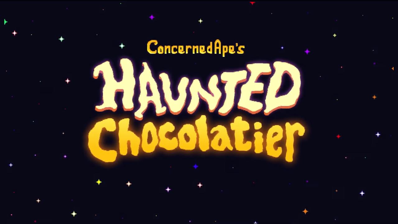 Stardew Valley Creator annonce un nouveau jeu Haunted Chocolatier
